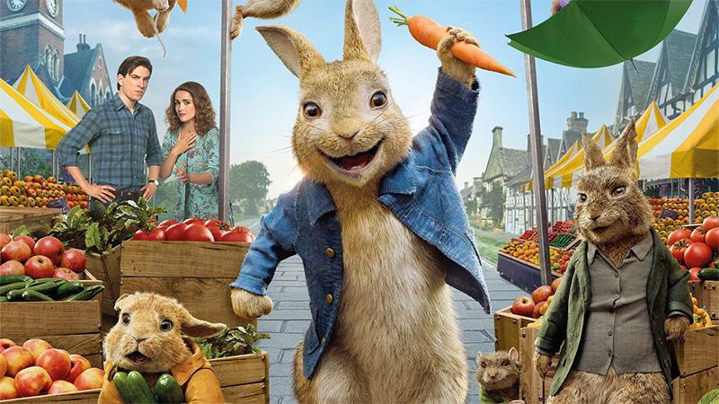 Peter Rabbit 2 - Un birbante in fuga, il poster definitivo del film