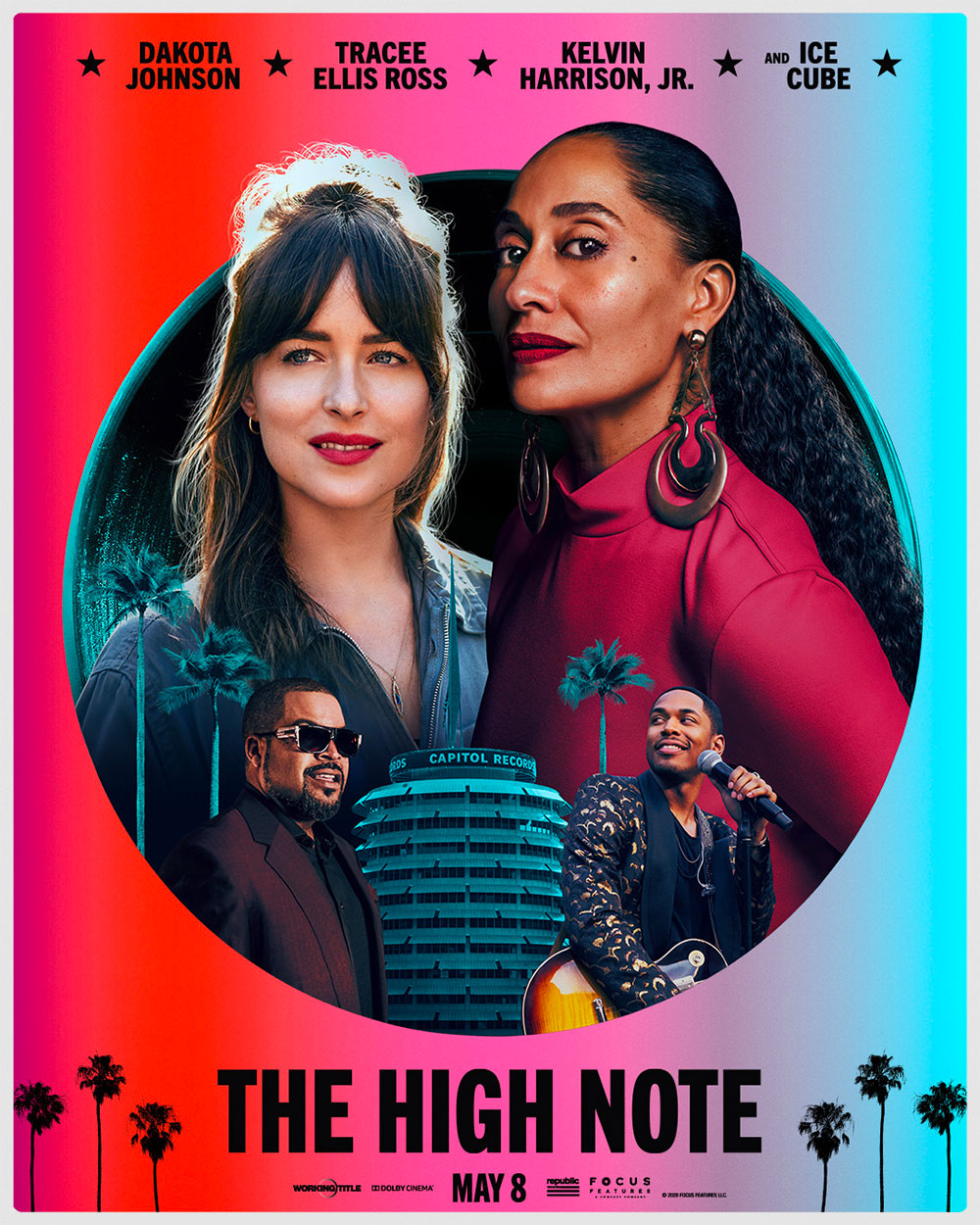 In foto Dakota Johnson (31 anni) Dall'articolo: The High Note, il poster originale del film.