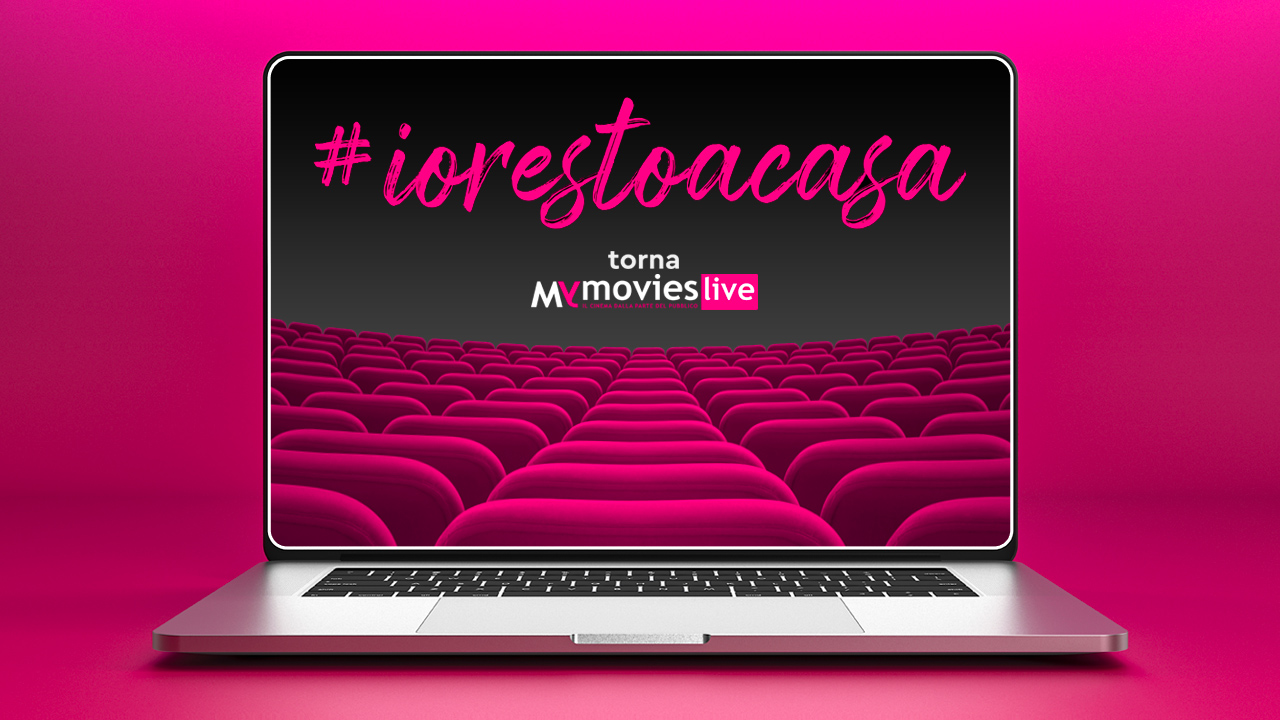 #iorestoacasa con MYmovies. 50 film gratis in streaming fino al 5 aprile