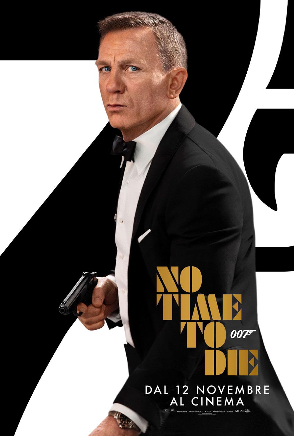 In foto Daniel Craig (52 anni) Dall'articolo: No Time To Die, il nuovo poster ufficiale del film.