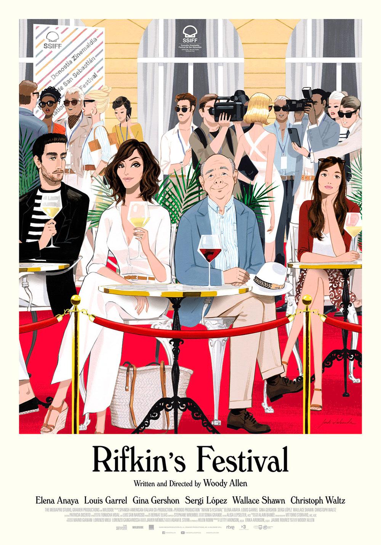 -  Dall'articolo: Rifkin's Festival, il poster del nuovo film di Woody Allen.