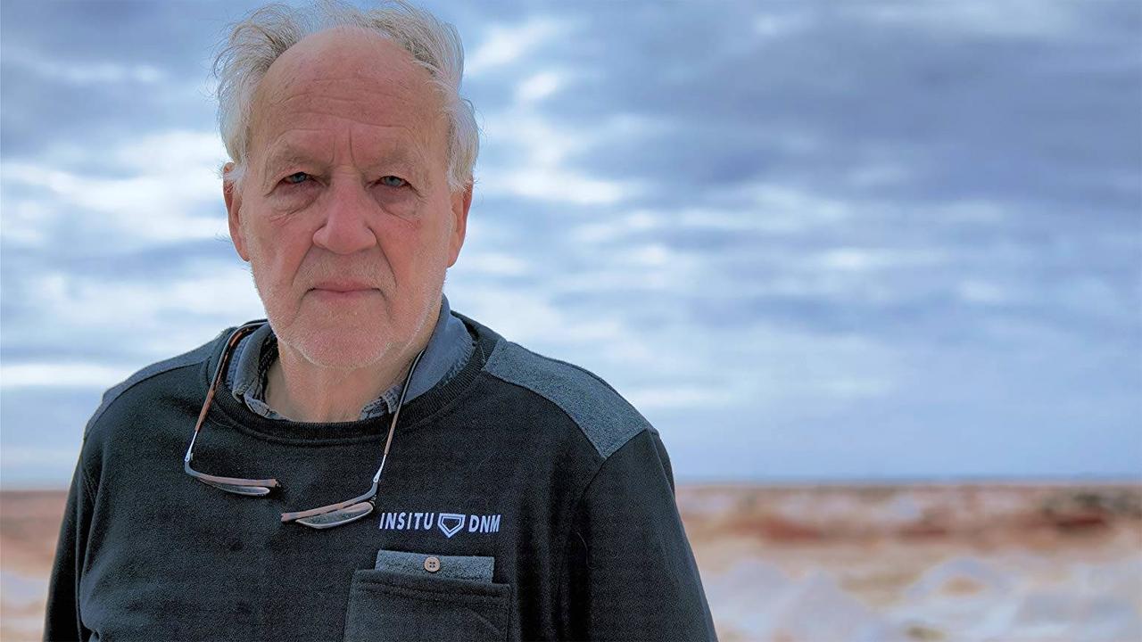 In foto Werner Herzog (79 anni) Dall'articolo: Nomad - In cammino con Bruce Chatwin, dal 19 al 21 ottobre al cinema.