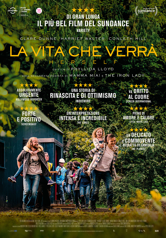 -  Dall'articolo: La vita che verrà - Herself, il poster italiano del film.