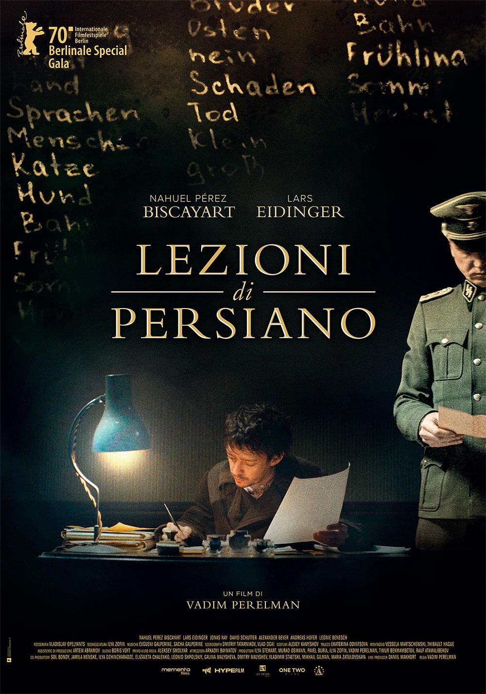 -  Dall'articolo: Lezioni di Persiano, il poster italiano del film.
