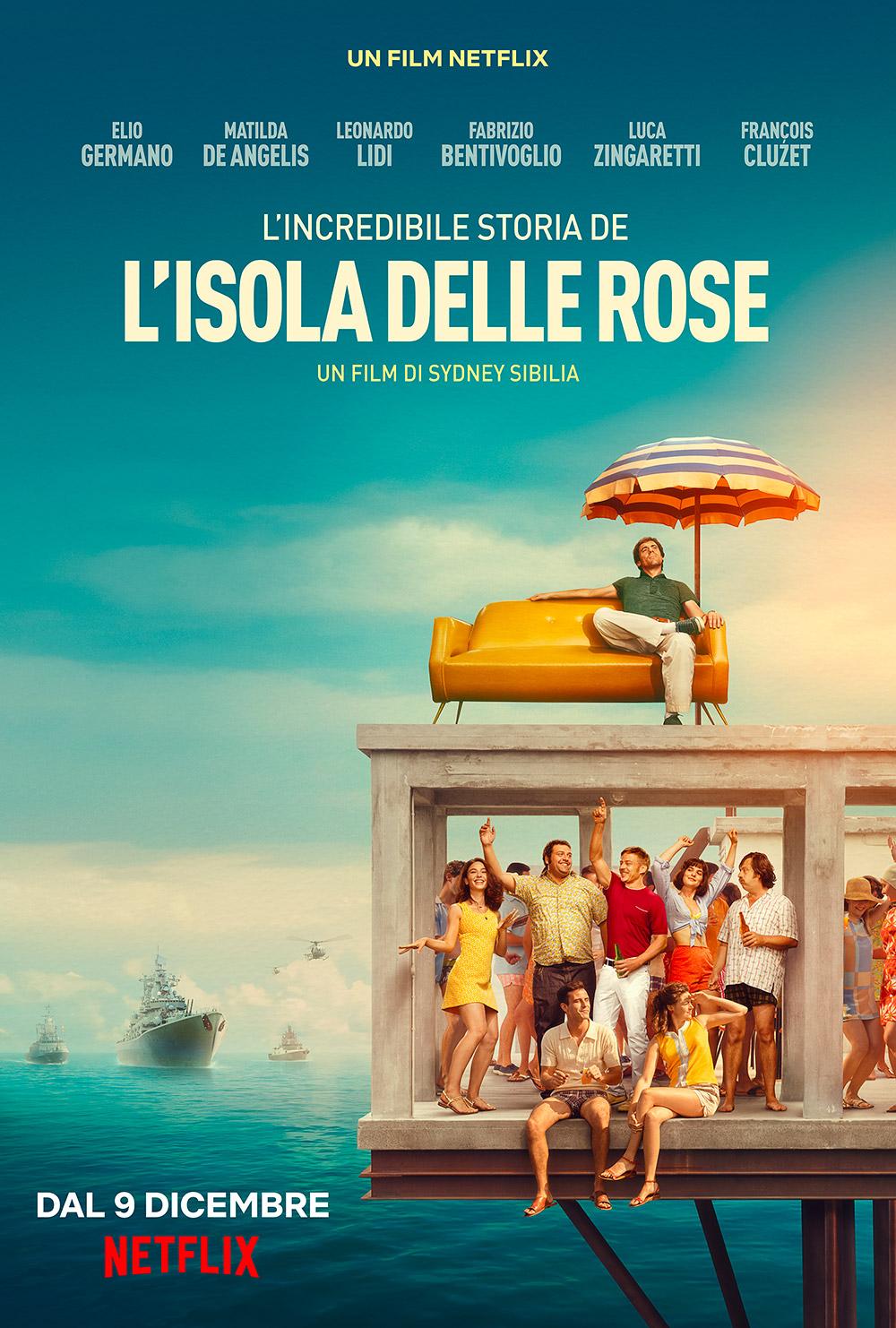[好雷] 玫瑰島 Rose Island (Netflix 義大利片)
