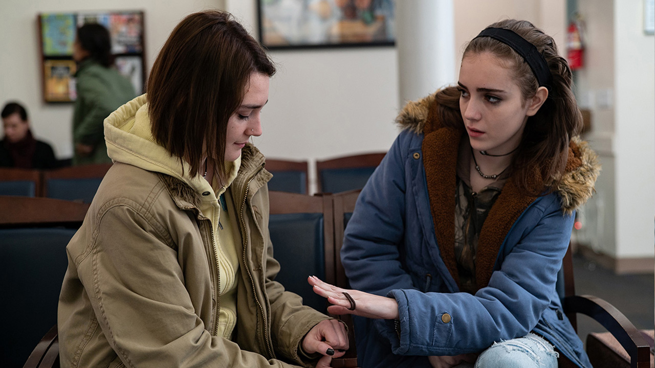 In foto Sidney Flanigan Dall'articolo: Mai raramente a volte sempre, un film bellissimo che osserva l'adolescenza.