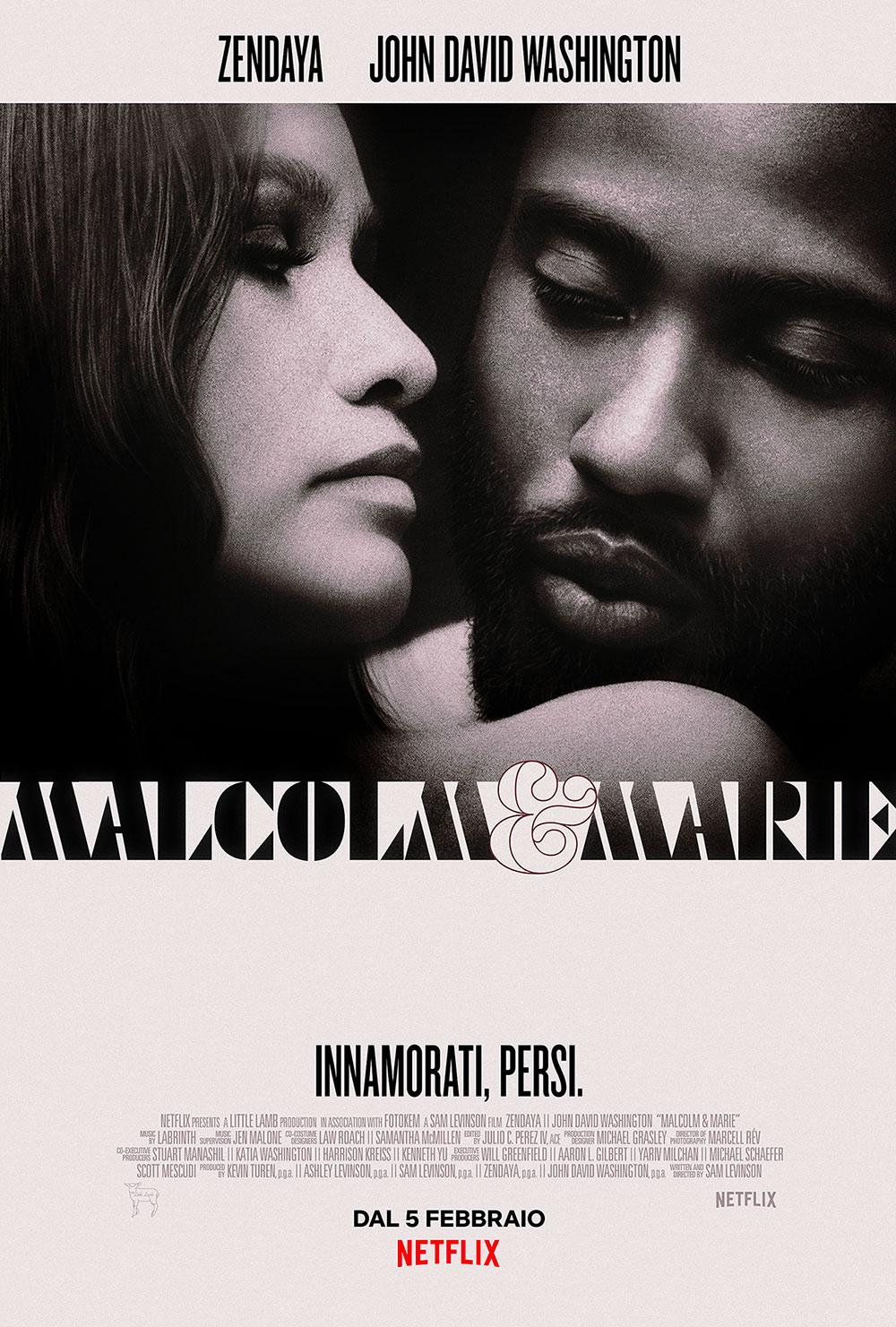 In foto Zendaya (25 anni) Dall'articolo: Malcolm & Marie, il poster italiano del film.