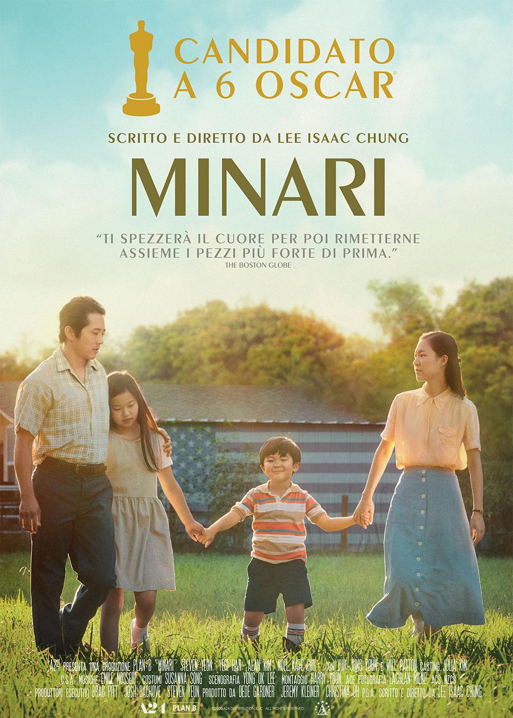 -  Dall'articolo: Minari, il poster italiano del film.
