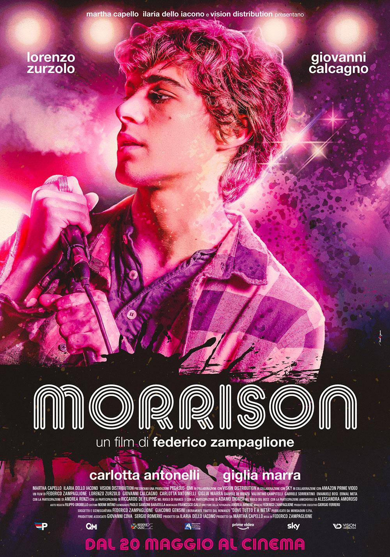 In foto Lorenzo Zurzolo (21 anni) Dall'articolo: Morrison, il poster ufficiale del film.
