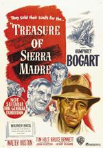Poster Il tesoro della Sierra Madre  n. 2