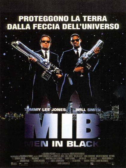 Locandina italiana MIB - Men in Black
