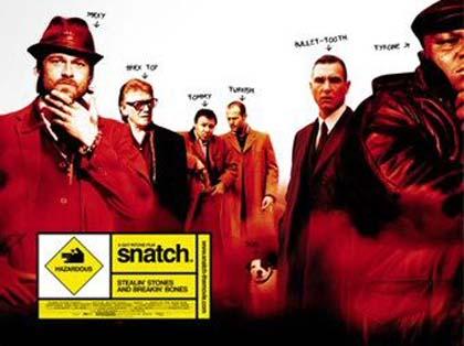 Poster Snatch - Lo strappo