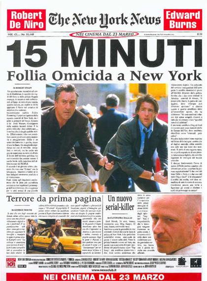 Trailer 15 minuti – Follia omicida a New York