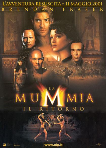Locandina italiana La mummia - Il ritorno