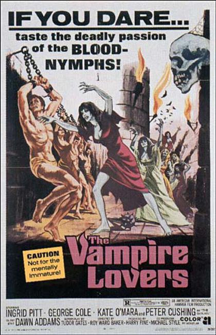 Locandina italiana Vampiri amanti