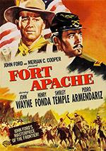 Locandina Il massacro di Fort Apache