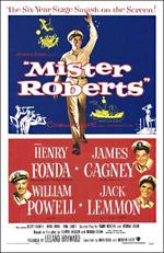 Locandina La nave matta di Mr. Roberts