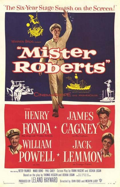 Poster La nave matta di Mr. Roberts
