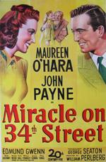 Locandina Il miracolo della 34ª Strada