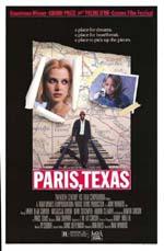 Poster Paris, Texas  n. 2