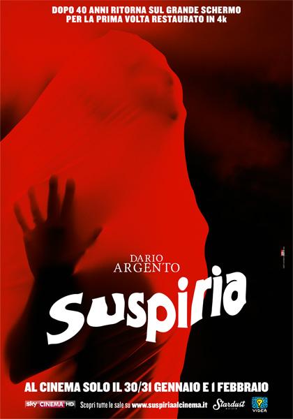 Locandina italiana Suspiria