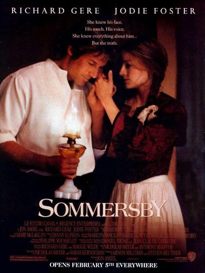 Locandina italiana Sommersby