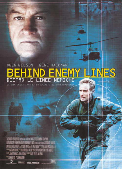 Locandina italiana Behind Enemy Lines - Dietro le linee nemiche