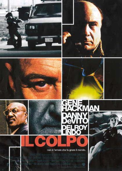 Locandina italiana Il colpo [1]