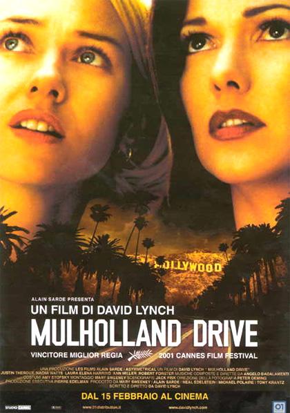Locandina italiana Mulholland Drive