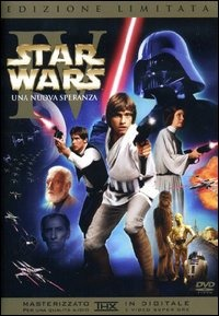 Locandina Star Wars. La trilogia