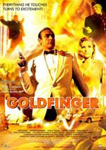 Poster Agente 007, missione Goldfinger  n. 1