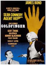 Poster Agente 007, missione Goldfinger  n. 3