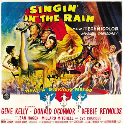 Poster Cantando sotto la pioggia