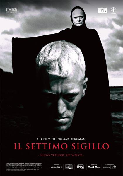 Locandina italiana Il settimo sigillo