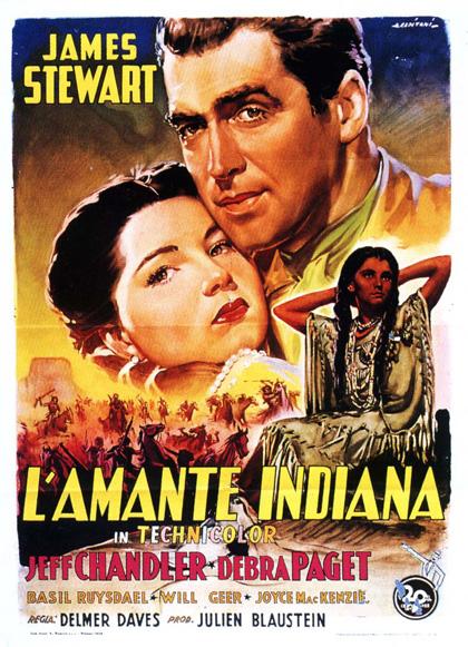 Locandina italiana L'amante indiana