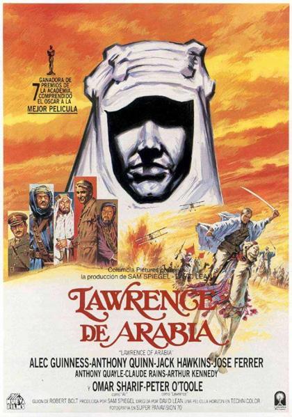 Locandina italiana Lawrence d'Arabia