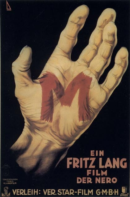 Poster M - Il mostro di Düsseldorf