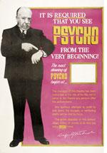 Poster Psyco  n. 2