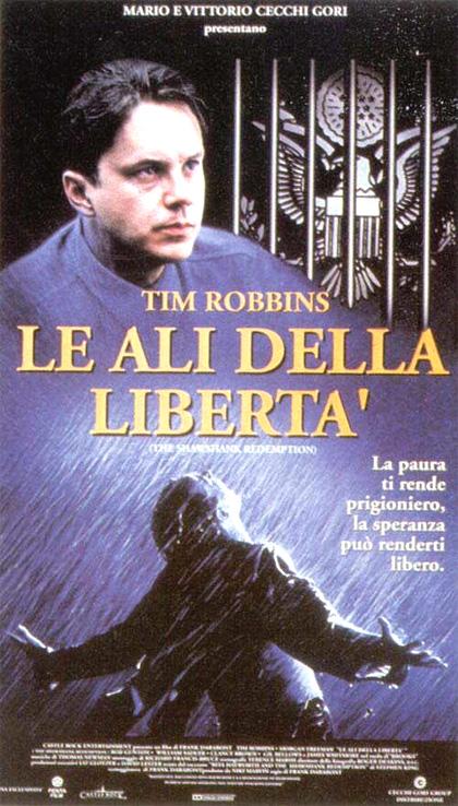 Locandina italiana Le ali della libertà