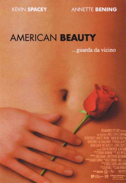 Locandina italiana American Beauty