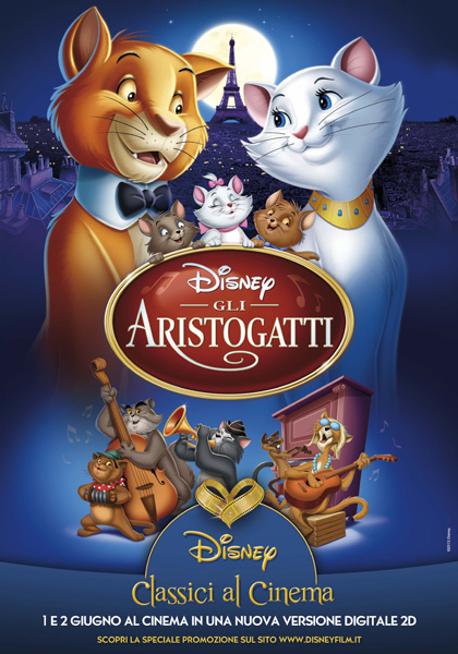 gli aristogatti italiano