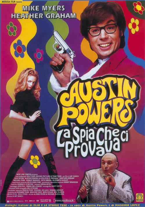 Locandina Austin Powers - La spia che ci provava