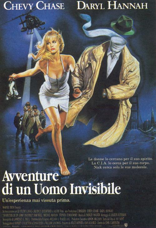 Locandina Le avventure di un uomo invisibile