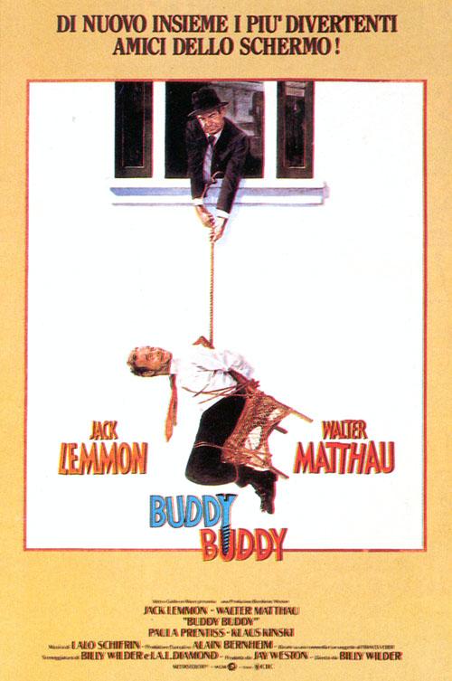 Locandina Buddy Buddy