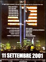 Locandina 11 settembre 2001