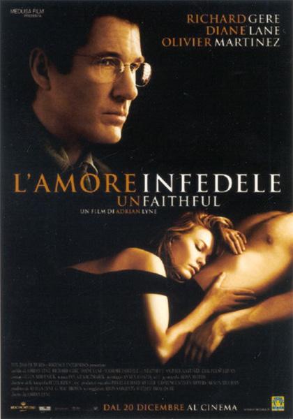 Locandina italiana Unfaithful - L'amore infedele