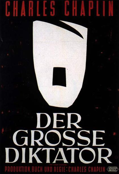 Poster Il grande dittatore
