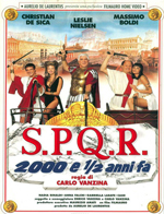 Locandina S.P.Q.R. - 2000 e ½ anni fa