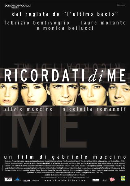 Locandina italiana Ricordati di me