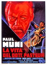 Locandina La vita del dottor Pasteur
